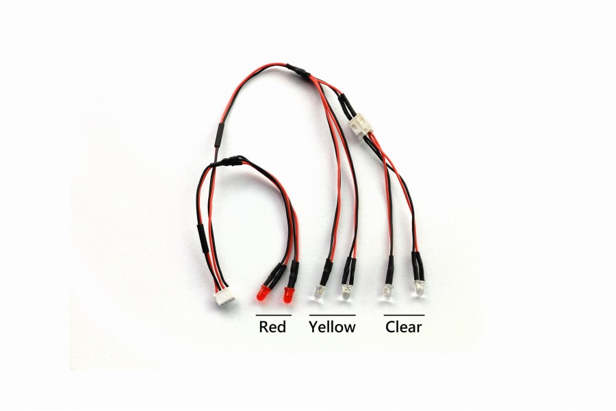 LED Light Set (Clear,Yellow,Red)
