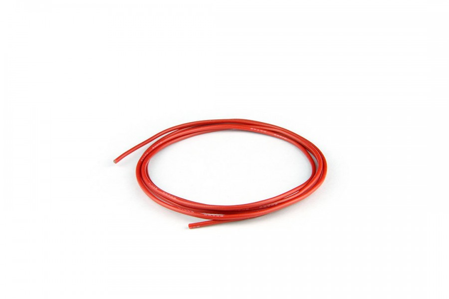 Silicon Wire (22AWG/1M/Red)