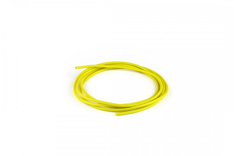 Silicon Wire (22AWG/1M/Yellow)