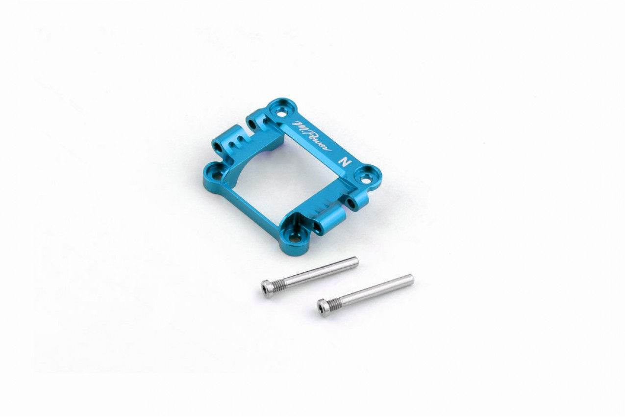 Alu-alloy Front Upper Cover (Narrow/Cyan)