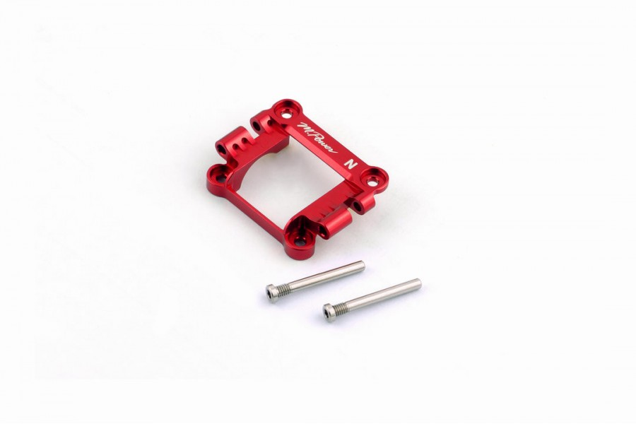 Alu-alloy Front Upper Cover (MA-020, Narrow, Red)