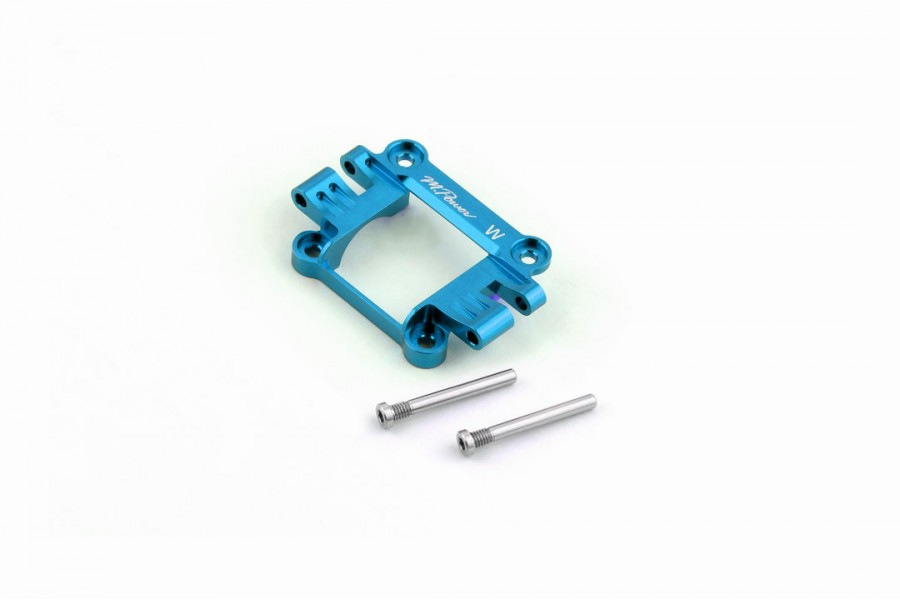 Alu-alloy Front Upper Cover (MA-020, Wide, Cyan)