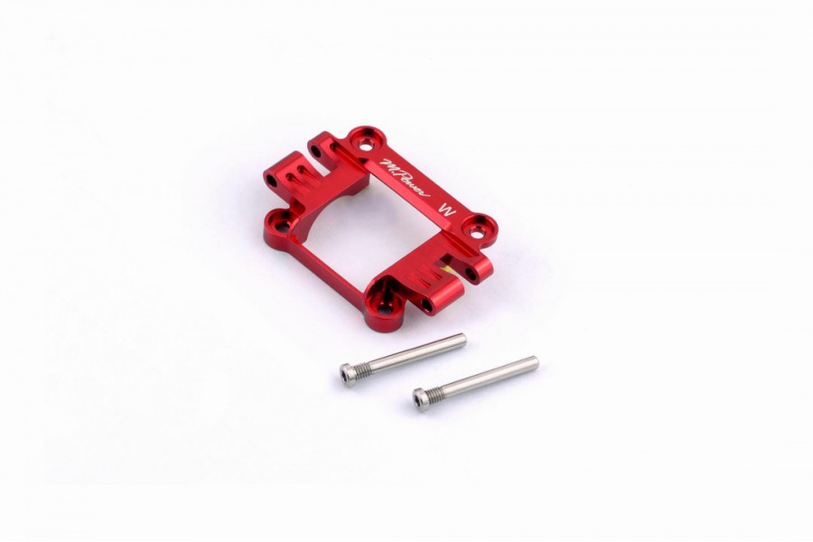 Alu-alloy Front Upper Cover (Wide/Red)