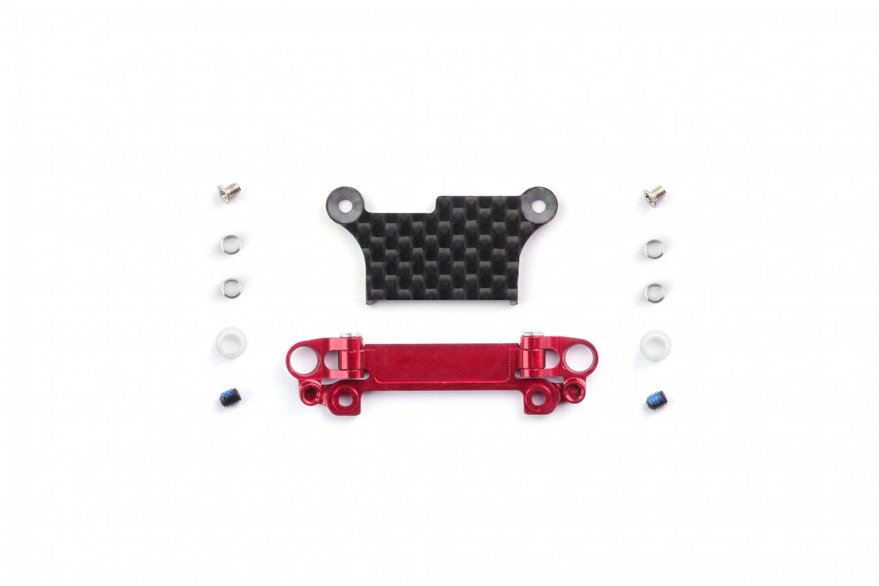 Alu-alloy Front Lower Wishbone Set (MA-020, Narrow, Red)