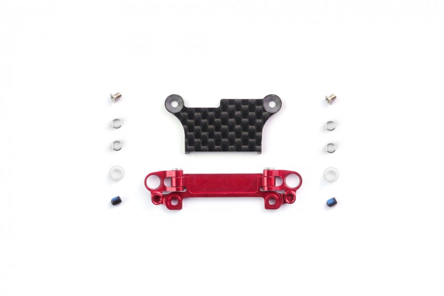 Alu-alloy Front Lower Wishbone Set (MA-020, Narrow, Red)