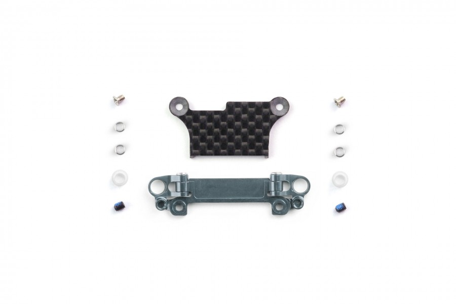 Alu-alloy Front Lower Wishbone Set (MA-020, Narrow, Gunmetal)