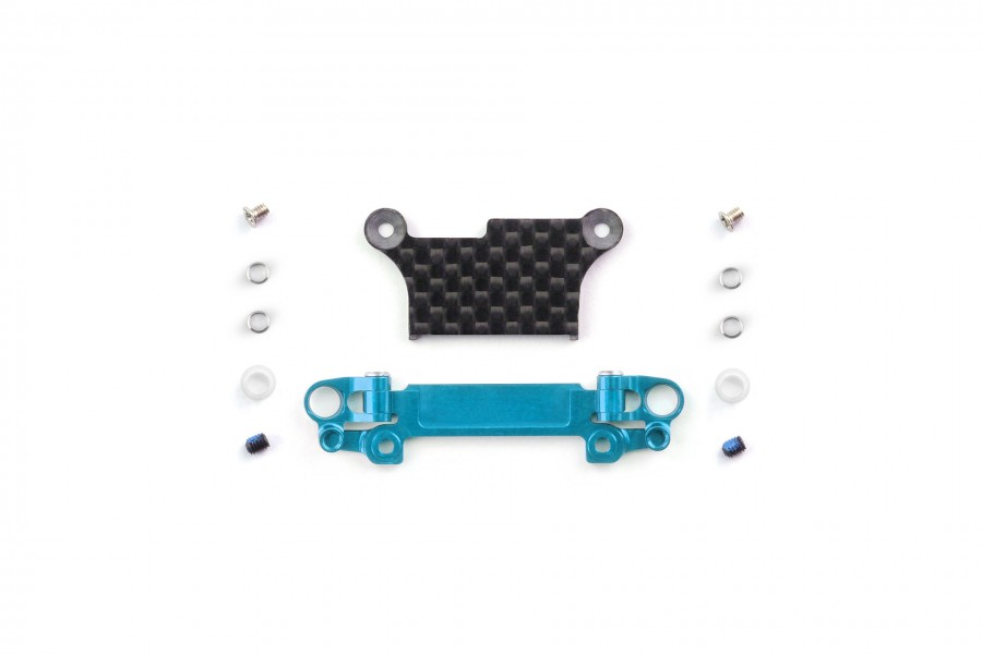 Alu-alloy Front Lower Wishbone Set (MA-020, Wide, Cyan)