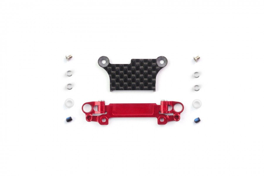 Alu-alloy Front Lower Wishbone Set (MA-020, Wide, Red)
