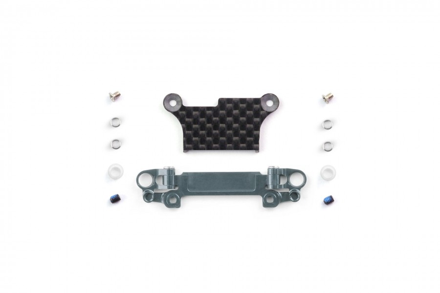 Alu-alloy Front Lower Wishbone Set (MA-020, Wide, Gunmetal)