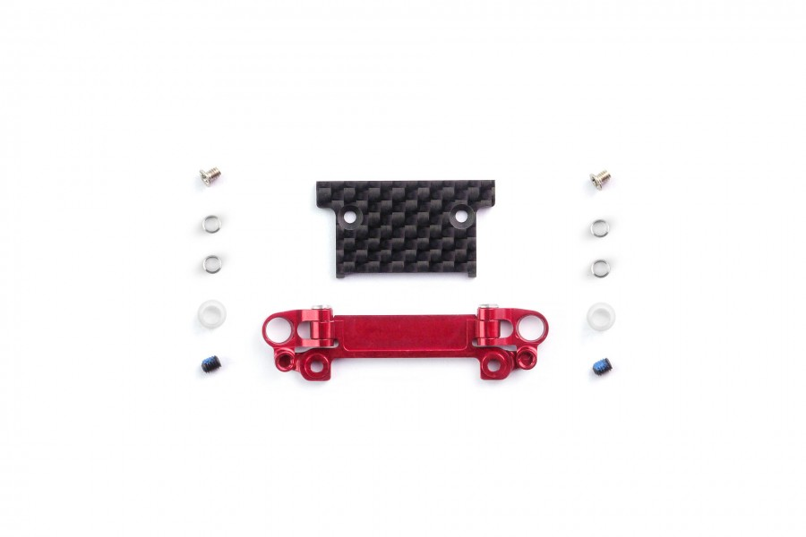 Alu-alloy Front Lower Wishbone MA-030/F Set (Narrow/Red)