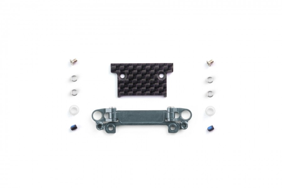 Alu-alloy Front Lower Wishbone MA-030/F Set (Narrow/Gunmetal)