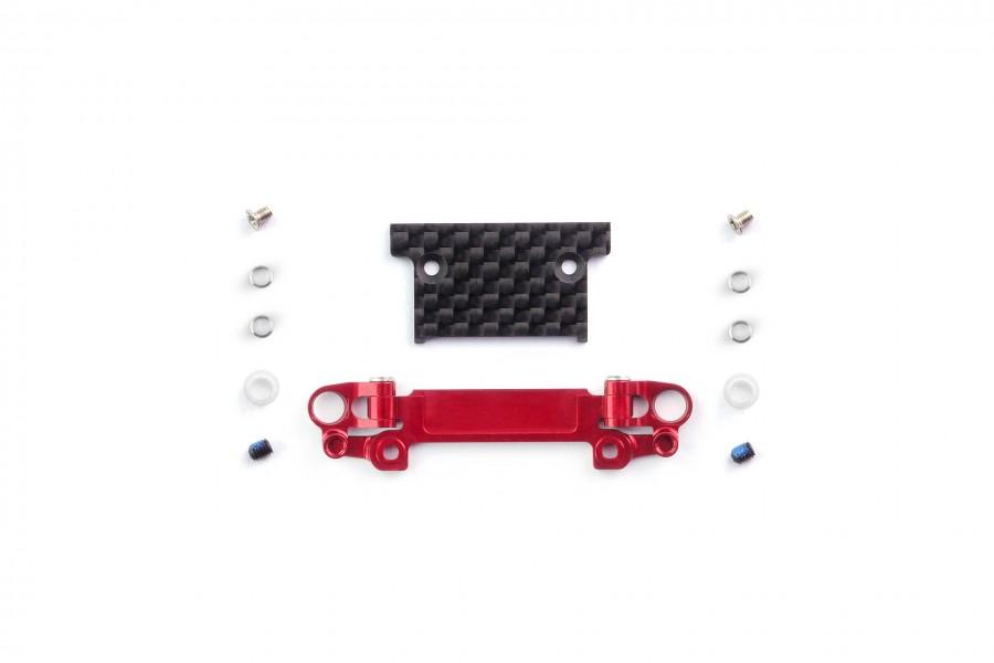 Alu-alloy Front Lower Wishbone MA-030/F Set (Wide/Red)