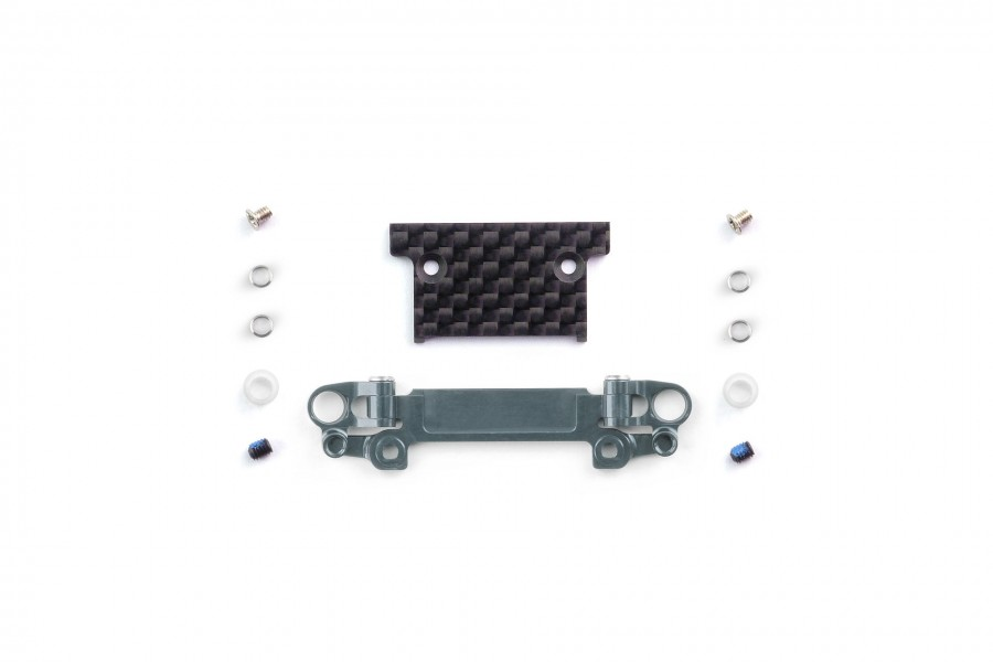 Alu-alloy Front Lower Wishbone MA-030/F Set (Wide/Gunmetal)