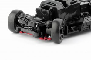 Alu-alloy Front Lower Wishbone MA-030/F Set (Narrow/Red)