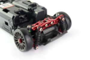 Alu-alloy Shock Stay Ver.2 (for DWS, Red)