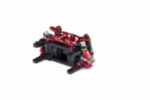 Alu-alloy Rear Hub (for DWS. Red)