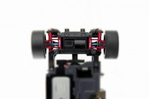 Alu-alloy Rear Lower Arm (for DWS. Narrow/Red)