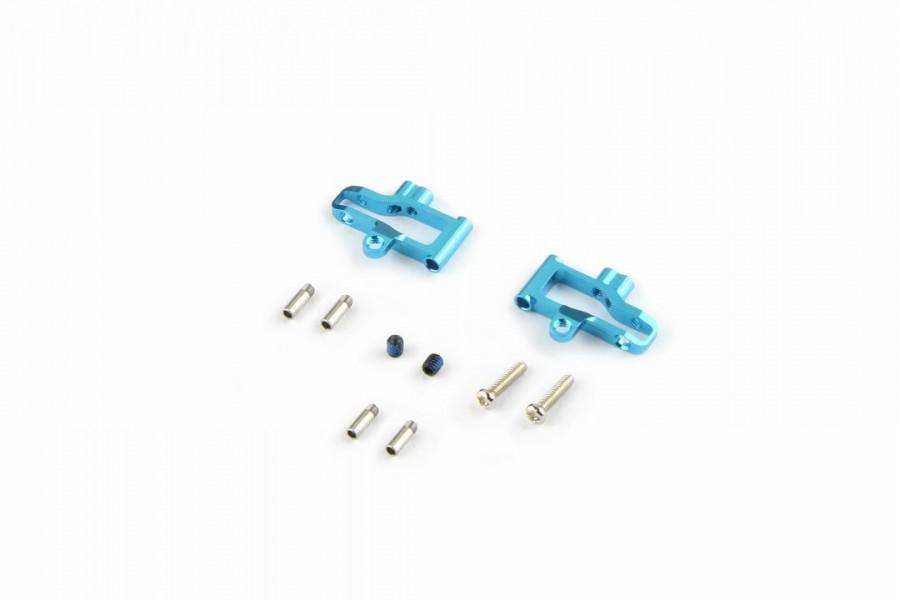Alu-alloy Rear Lower Arm (for DWS, Wide, Cyan)