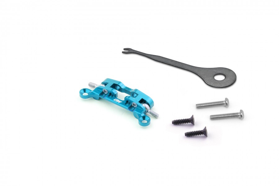 Alu-alloy Upper Arm Holder (for DWS, Cyan)