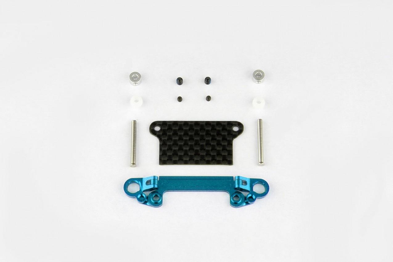 Alu-alloy Front Lower Wishbone Set (MR-03, Wide, Cyan)