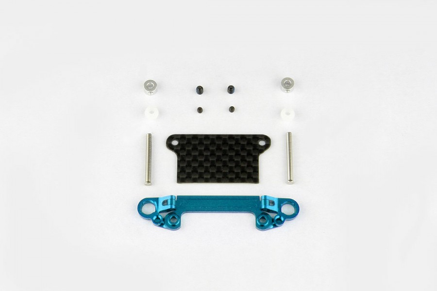 Alu-alloy Front Lower Wishbone Set (Wide/Cyan)