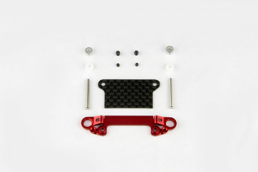 Alu-alloy Front Lower Wishbone (Red)