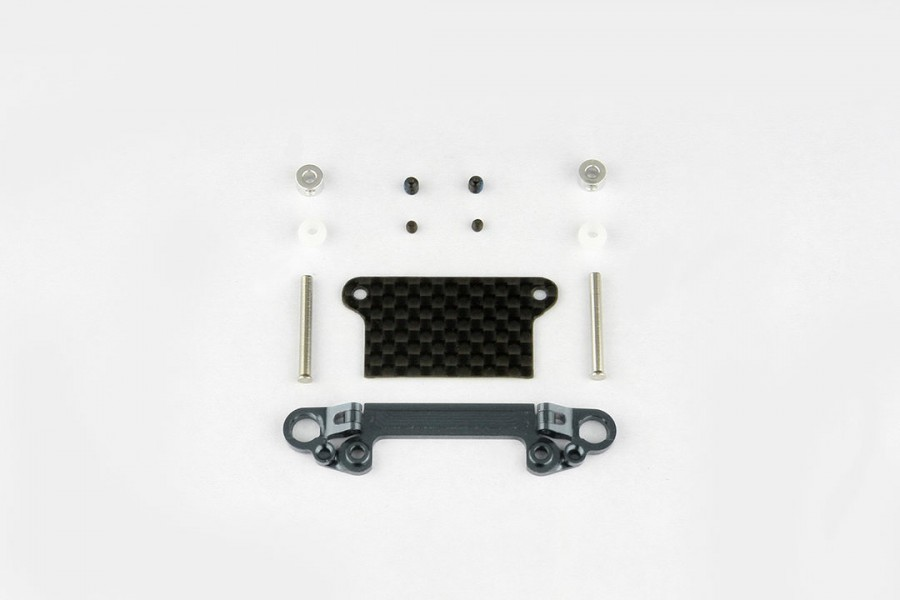 Alu-alloy Front Lower Wishbone Set (Wide/Gunmetal)