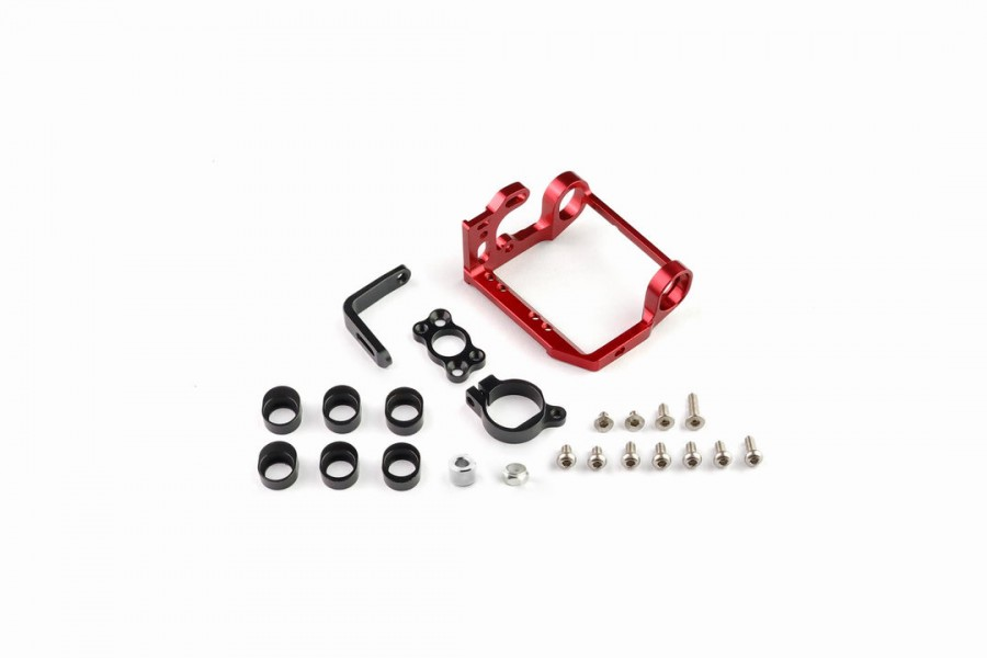 Alu-alloy Motor Mount Set/MM (Red)