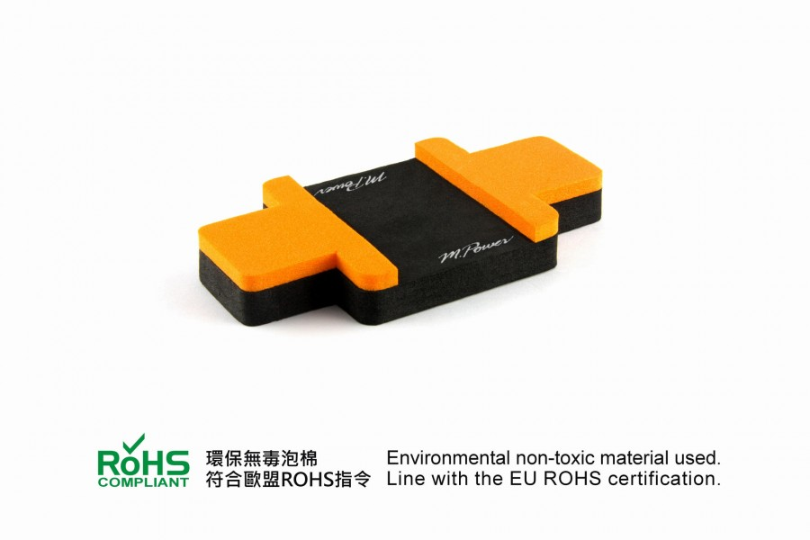Foam Car Stand (Orange)